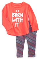 Under Armour Infant Girl's Born With It Tee & Pants Set