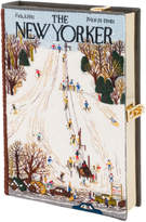 Olympia Le-Tan Olympia Le Tan The New Yorker Ski Resort Strapped Book Clutch Bag