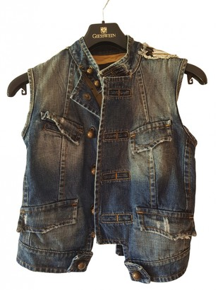 DSQUARED2 Blue Denim - Jeans Jackets