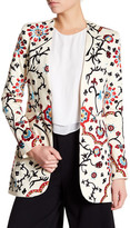Alice + Olivia Chriselle Embroidered Blazer