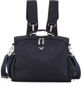 Armani Junior Nylon Backpack Diaper Bag, Navy