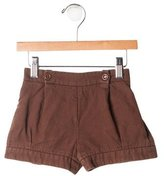 Chloé Girls' Pleated Shorts