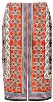 Wallis Petite Paisley Printed Skirt