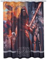 Star Wars Episode 7 The Force Awakens Shower Curtain
