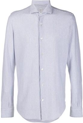 Eleventy Slim-Fit Striped Shirt
