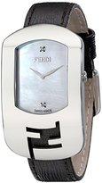 Fendi Women's F300034521D1 Chameleon Analog Display Quartz Brown Watch