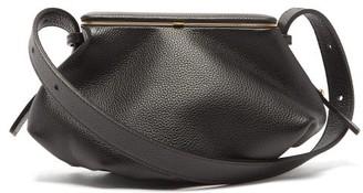 Lutz Morris Bates Small Grained-leather Shoulder Bag - Womens - Black