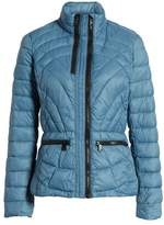 Bernardo Sporty Water-Resistant Quilted Jacket