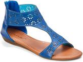 Star Bay Women's Sandals Navy - Navy Floral-Cutout Sandal - Women