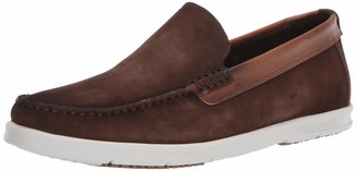 Driver Club Usa Men's Made in Brazil Luxury Leather Venetian Boat Shoe