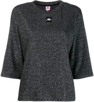 Kappa logo knitted top