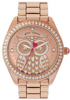 Betsey Johnson Betseys Holiday Owl Watch