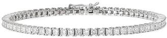 777 18kt White Gold Diamond Bracelet