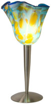 Ely's Class Art Hand Blown Art Glass Table Lamp