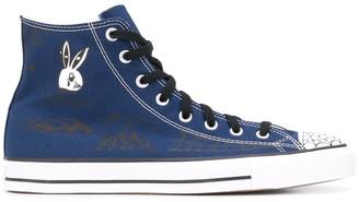 Converse spiderweb print Chuck Taylor sneakers
