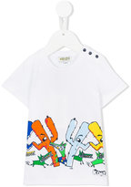 Kenzo graphic print T-shirt - kids - Cotton - 6 mth