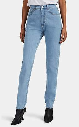 Katharine Hamnett Women's Patsy High-Rise Straight Jeans - Blue