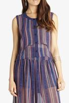 BCBGeneration Striped Double-Layer Shirt