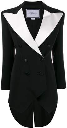 Redemption double-breasted tuxedo dress