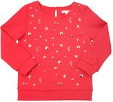 Chloé Studded Milano Jersey Sweatshirt