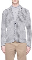 Altea Geometric knit soft blazer