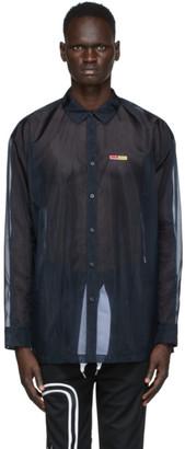 Reebok by Pyer Moss Black Sheer Shirt