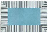 Liora Manné Trans Ocean Imports Ravella Pin Stripe Border Indoor Outdoor Rug