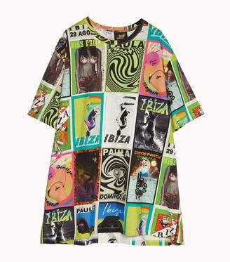 Loewe x Paula's Ibiza Club Flyer Print T-Shirt