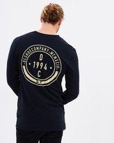 DC Mens Glandular Long Sleeve T shirt