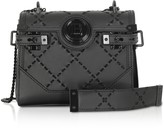 Balmain Leather & Suede Bbuzz Backpack 18