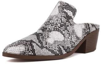 Shu Shop Shoes Hedwig Snake Mule