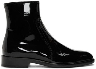 Maison Margiela Black Patent Sirya Boots