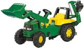 Kettler John Deere Backhoe Loader Ride-On by
