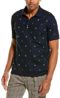 Burberry Monogram Motif Star Print Polo Shirt