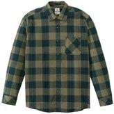 Quiksilver Men's Yardbite Buffalo L/S Shirt 8139228
