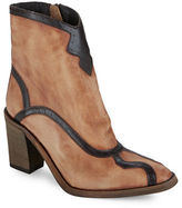 Free People Winding Road Leather Ankle Boots