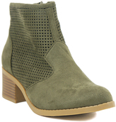 City Classified Light Khaki Weezie Ankle Boot