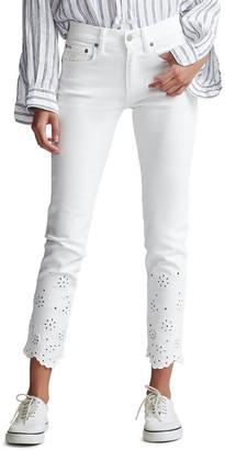Polo Ralph Lauren Tompkins Skinny Crop Jean