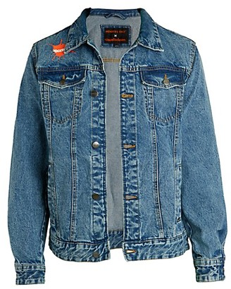 Members Only Rugrats Graphic Denim Jacket