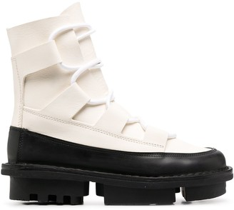 Trippen Proof rubber-edge leather boots