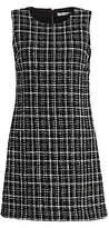 Alice + Olivia Women's Coley Tweed A-Line Mini Dress - Size 0