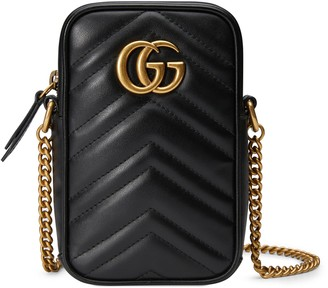 Gucci Mini Quilted Leather Crossbody Bag