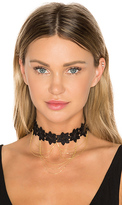 8 Other Reasons Moulin Choker in Metallic Gold.