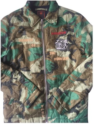 MHI Green Polyester Jackets