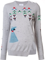 Barrie Press Play Embroidered Sweater