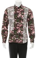 Givenchy Floral Print Button-Up Shirt w/ Tags