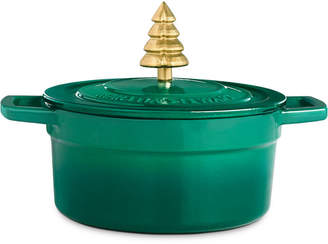 Martha Stewart Collection 2-Qt. Enameled Cast Iron Dutch Oven with Tree Knob