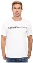 Calvin Klein Jeans Traditional Crew Neck Tee