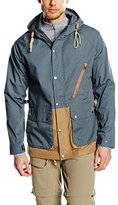 Volcom Men's Blouse Long Sleeve Jacket - Blue -
