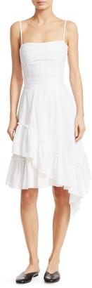 Derek Lam Ruffled Asymmetric Flare Dress